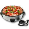 Paella /& Pizza Tisch Partypfanne Elektrische Bratpfanne 30cm für Bratkartoffeln