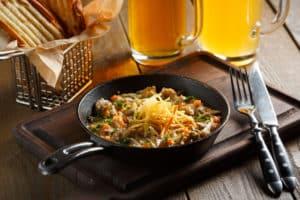 Leckere Pilzpfanne mit Gemüse