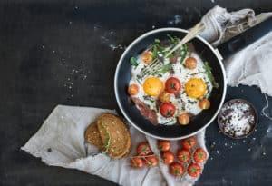 Frühstück aus Ballarini Pfanne