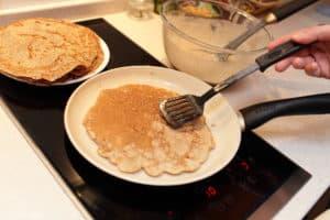 Zubehör für Pfannkuchenpfanne